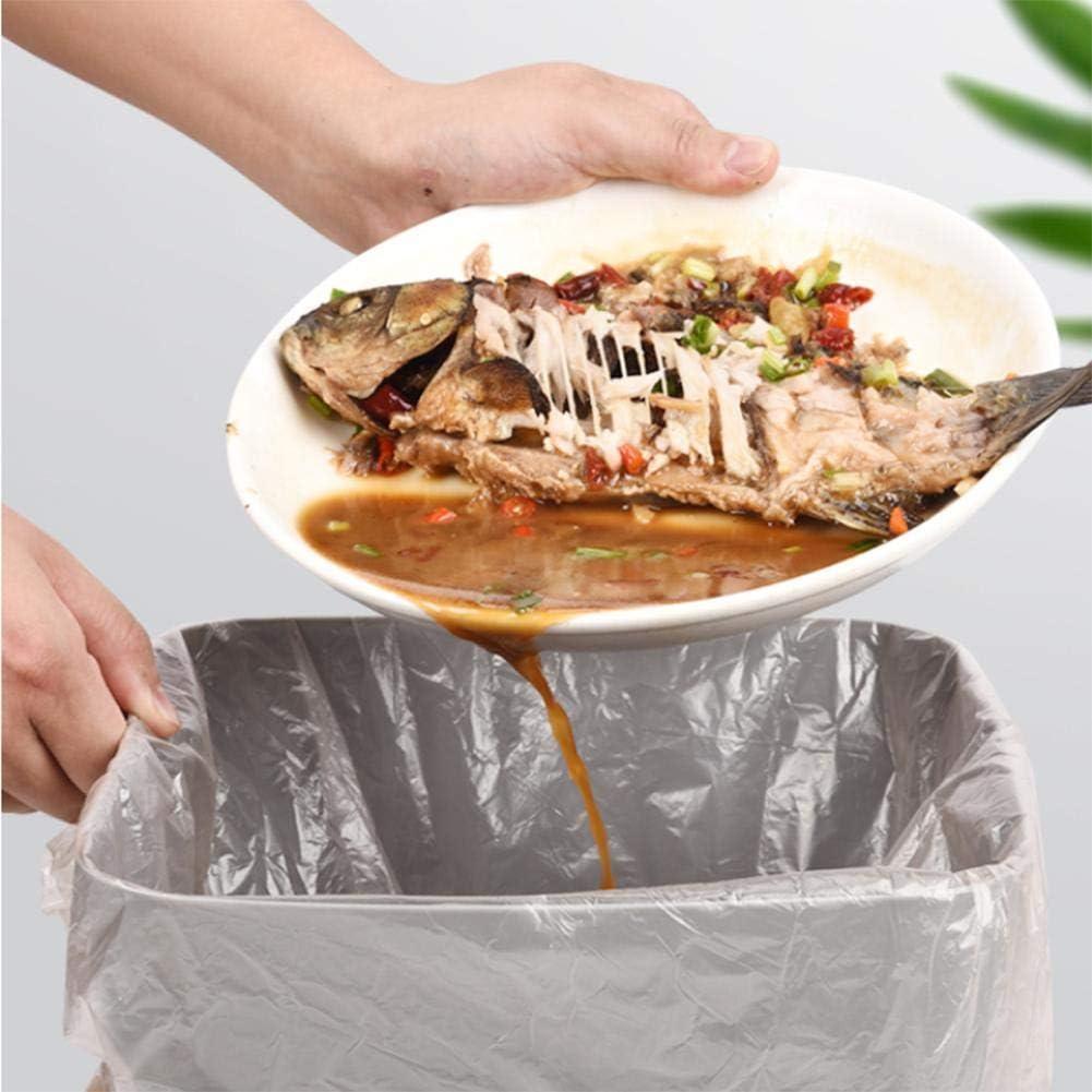 Acogedor M/üllsack,Garbage Bag 5 Taschen Flache /Öffnung M/üllsack Haushalt K/üche Restaurant M/üllsack Ros/égold M/üllbeutel,Dicker M/üllt/üten Abfalls/äcke