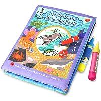 Ocamo El Libro de Dibujo de Agua del bebé de los niños, Herramienta de Graffiti para Pintar Animales de Dibujos Animados con Pluma mágica, Juguetes educativos para niños