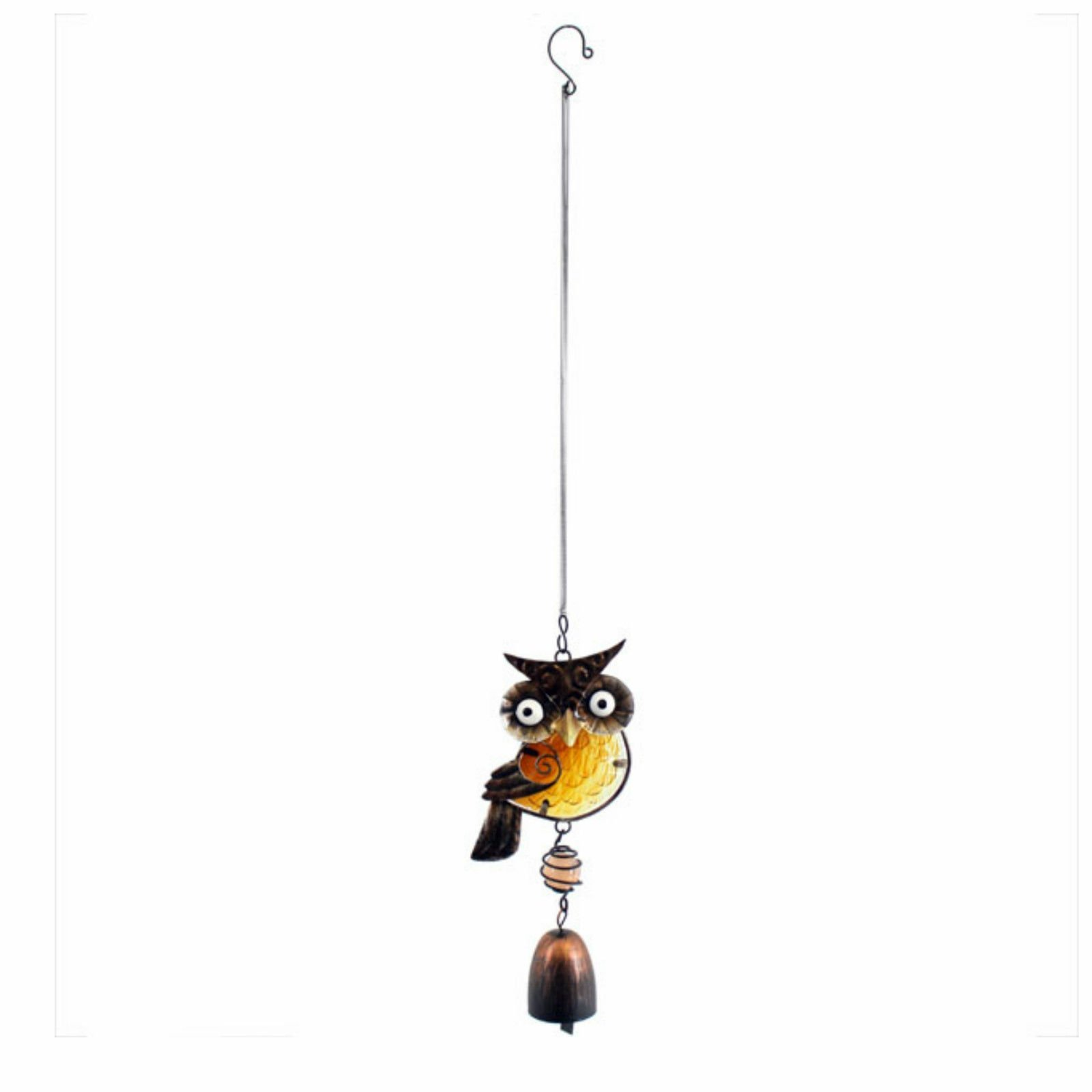 Jones Home and Gift Garden Chime Dangling Owl Chime On Spring Ideal Gift