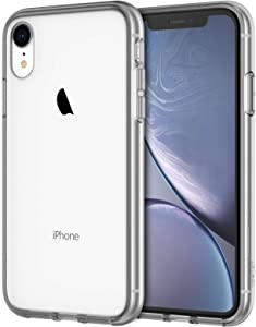 JETech Case for iPhone XR 6.1-Inch, Shock-Absorption Bumper Cover (Grey)
