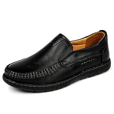 8f0f3aec44d HKR-HED5505heise36 Women Slip On Work Shoes Slip Resistant Comfortable Full  Grain Leather Non Slip