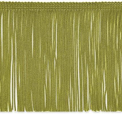 Expo International 5 Yards of 6 Chainette Fringe Trim Mint Green