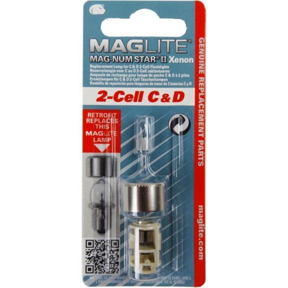 Repuesto Maglite : 2 Celda Mag-Num Star Xenon C or D Replace
