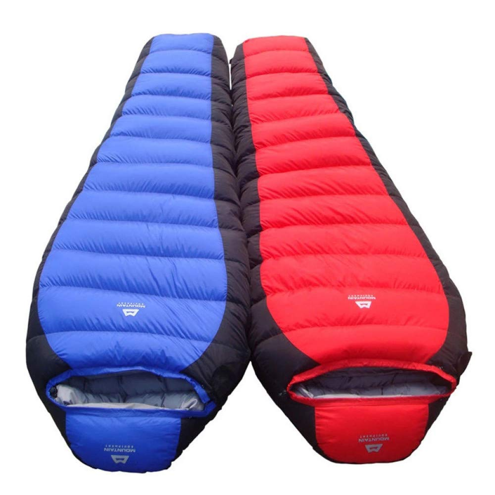 LOLIVEVE Double Lunch Camping Reise Schlafsack Outdoor Schlafsack -25 Grad Outdoor Warm Mama Schlafsack Winter