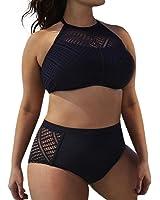 bañadores mujer tallas grandes 2017 Switchali atractivo bikini mujer braga alta baratos bañadores mujer push up Verano Cintura Alta Traje De Baño Beachwear Bra Negro deportivos