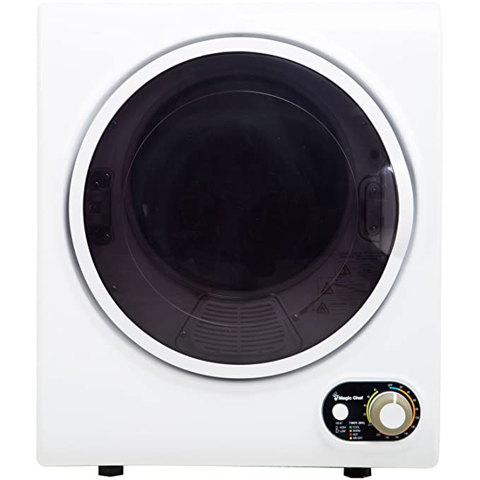 Magic Chef Compact Electric MCSDRY15W 1.5 cu. ft. Laundry Dryer, White best electric dryers