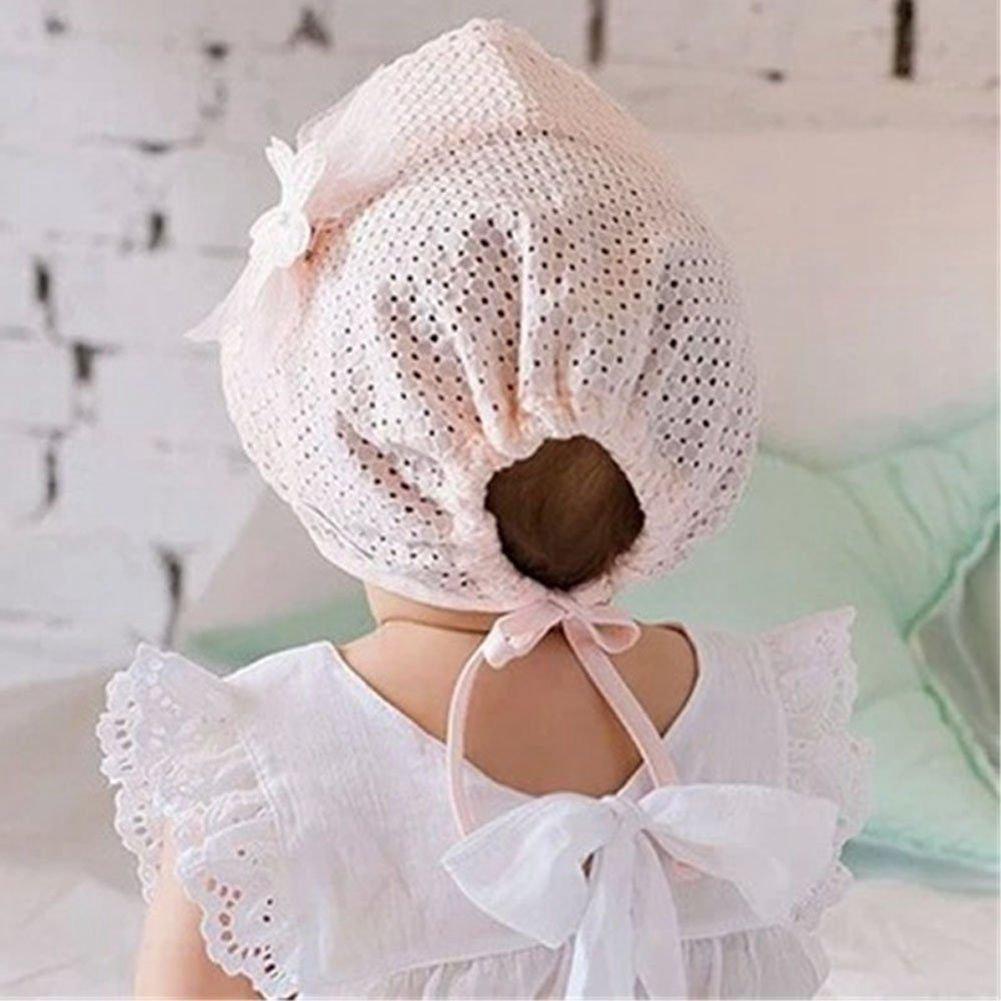SAMGU Tappi Principessa dei Bambini delle Ragazze dei Capretti del Bambino del Cappello del Beanie Nuovo Pizzo Floreale