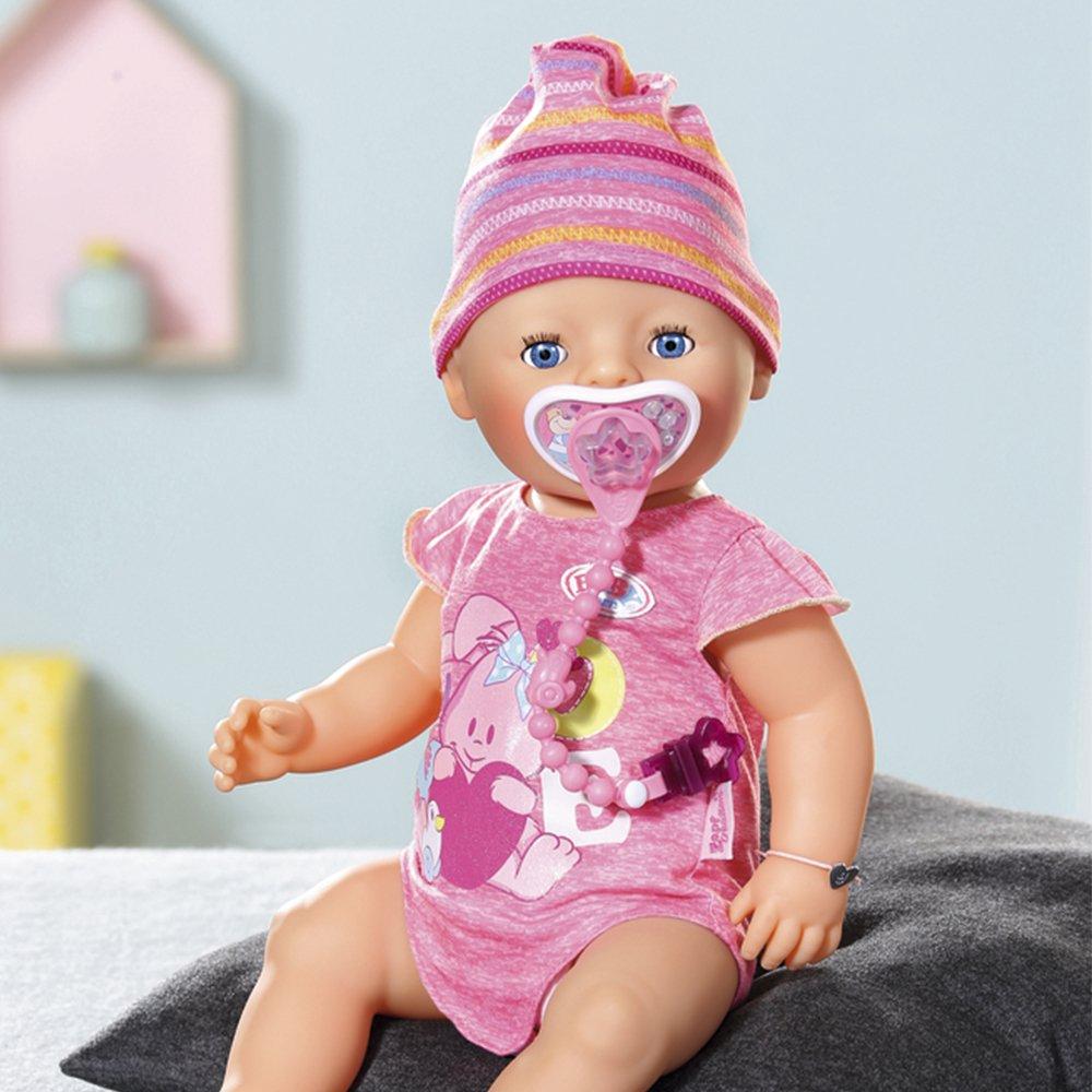 Zapf Creation Baby Born - Muñeca niña, color rosa (Bandai 815793): Amazon.es: Juguetes y juegos