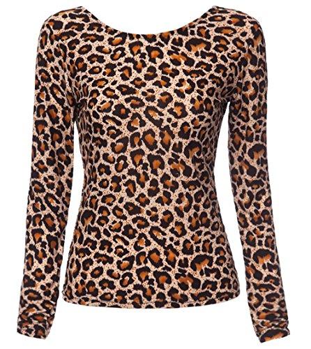 Donna Rotondo Shirts Marrone Pizzo Sottile Bluse Blouse Newlife Lunga Estivo Senza Cucitura Manica Maglie Fashion Schienale A Maglietta Collo Tops fPpwnHqEwx