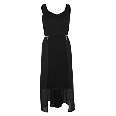 41ccaf2243 Patrizia Luca Milano Womens Zip Waist Dress Black Small at Amazon ...