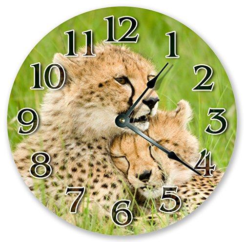 wall clock open face - 9