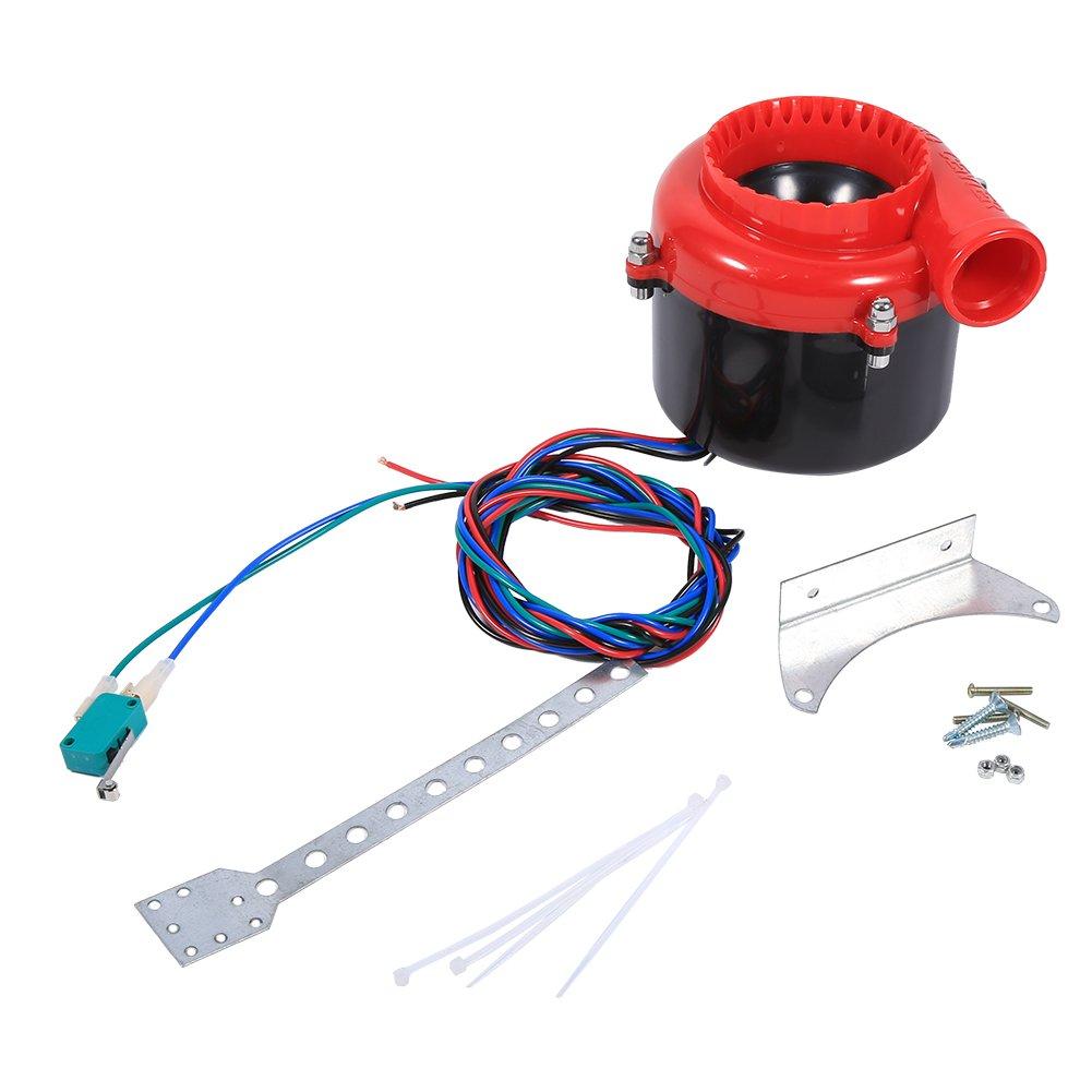 Qiilu QL00425 Car Electronic Dump Dump Turbo Blow Off Hooter Valve Analog Sound BOV Simulator Kit