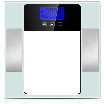Amazon.com: Báscula de grasa corporal, báscula de baño BMI ...