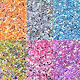 Vincent&July New Nail Powder Neon Mirror glitter Mirror Effect Rainbow Crystal Opal Nail Art Decoration