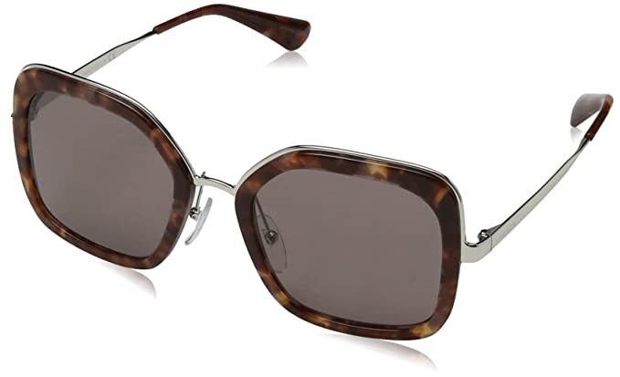 158acbf258 Prada PR57US UE06X1 Pink Havana PR57US Square Sunglasses Lens Category 3  Size 5