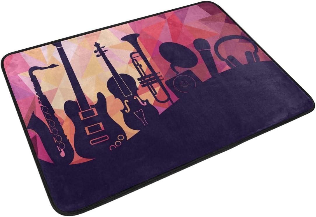 Ahomy WIHVE - Alfombra para Guitarra (60 x 40 cm): Amazon.es: Hogar