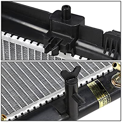 Replacement for Yaris/Scion xD 1-1/4 inches Inlet OE Style Aluminum Direct Replacement Racing Radiator: Automotive