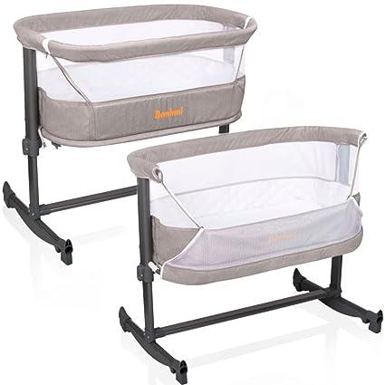 Cuna auxiliar Baninni Nesso, cama para bebés, tipo moisés ...
