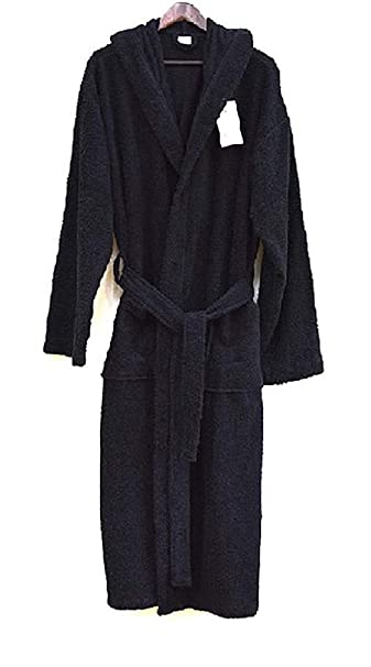 c4ceb36132782 Spa & Resort Heavy 3LB Hooded Terry Cloth Bathrobe. Full Length 100%  Turkish Cotton