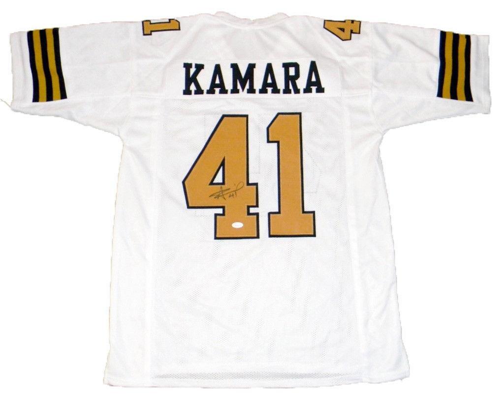 Alvin Kamara Signed Jersey #41 Color Rush JSA Certified Autographed NFL Jerseys