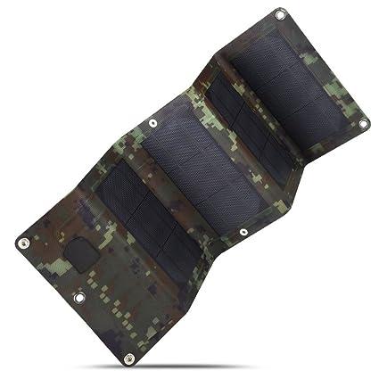 Amazon.com: sulprewopi 10 W célula solar Charger, plegable ...