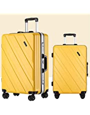 2019 Fashion PC Large Capacity Trolley Box High Density Password Lock Boarding Chassis Silent Pulley Frosted Surface Suitcase