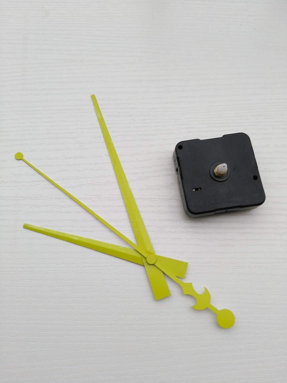Maslin 50PCS Green Color Clock Hands DIY Clockwork Mechanism 5168S Clock Movement Quartz Machine