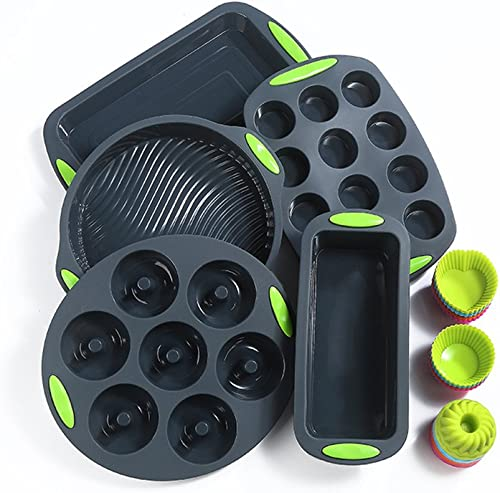 To Encounter Nonstick BPA Free 41 Pieces Silicone Bakeware Set