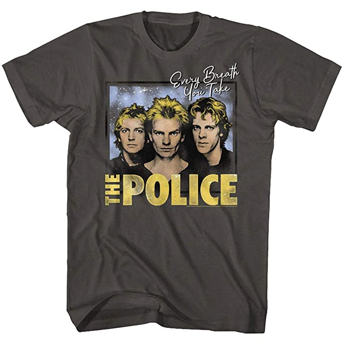 The Police Brittish Rock Band Outlandos D/' Amour Adult T Shirt