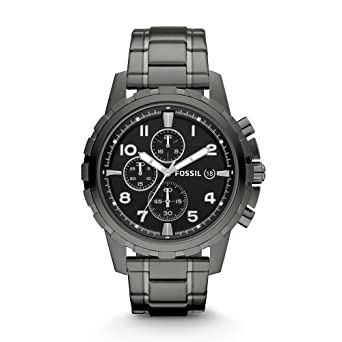 309620f50 Buy Fossil Dean Chronograph Black Dial Men s Watch - FS4721 Online ...