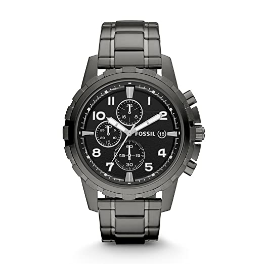 798fc4f7261 Buy Fossil Dean Chronograph Black Dial Men s Watch - FS4721 Online at Low  Prices in India - Amazon.in