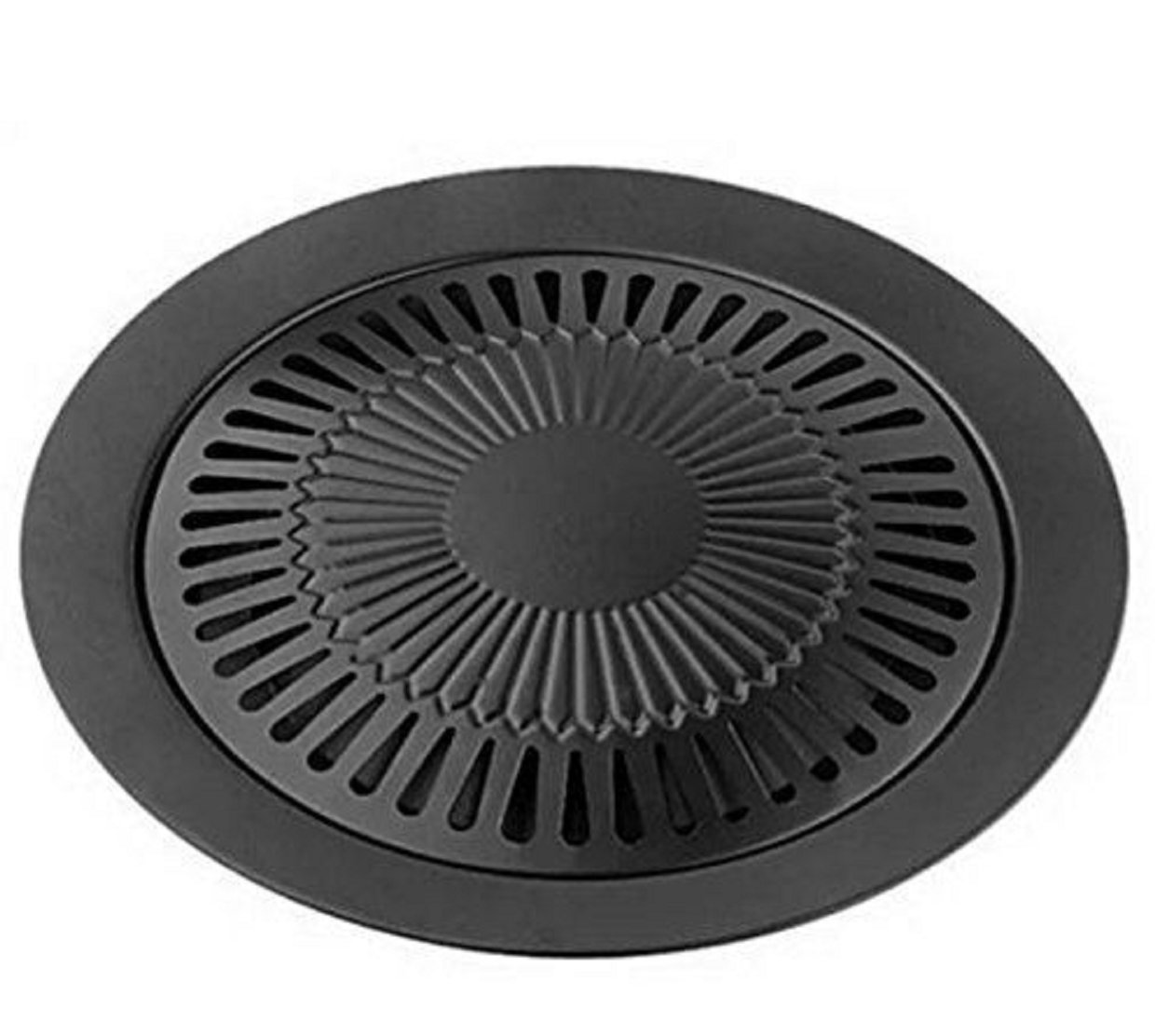 Amazon.com: Grill Stovetop Indoor Cast Pan Stove Cover Griddle BBQ ...