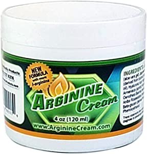 L Arginine Cream - Arginine Supplement - Supports Increased Blood Flow for Improved Circulation - for Men and Women - Unscented (4 Ounces)