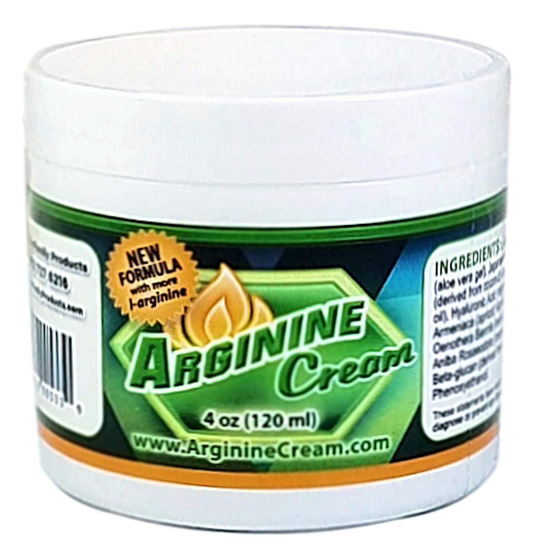 L-Arginine Cream - Arginine Supplement - Supports Increased Blood Flow for Improved Circulation - for Men and Women - Unscented (4 Ounces)