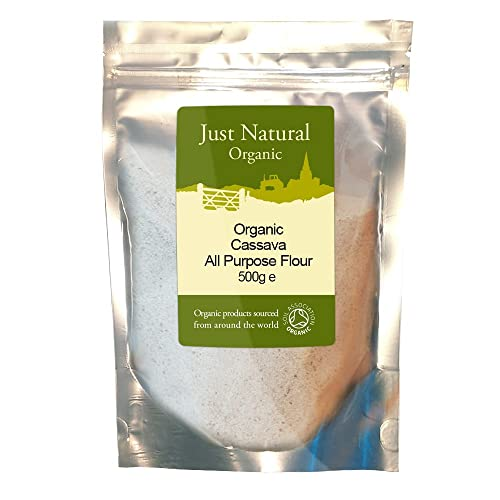 Just Natural Organic Cassava - All Purpose Flour 500g