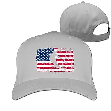 8a4910e08c1 Hizf Cap Alpine Skiing American Flag Men Snapback Baseball Caps Hip Hop  Durable Cotton Polo Hats