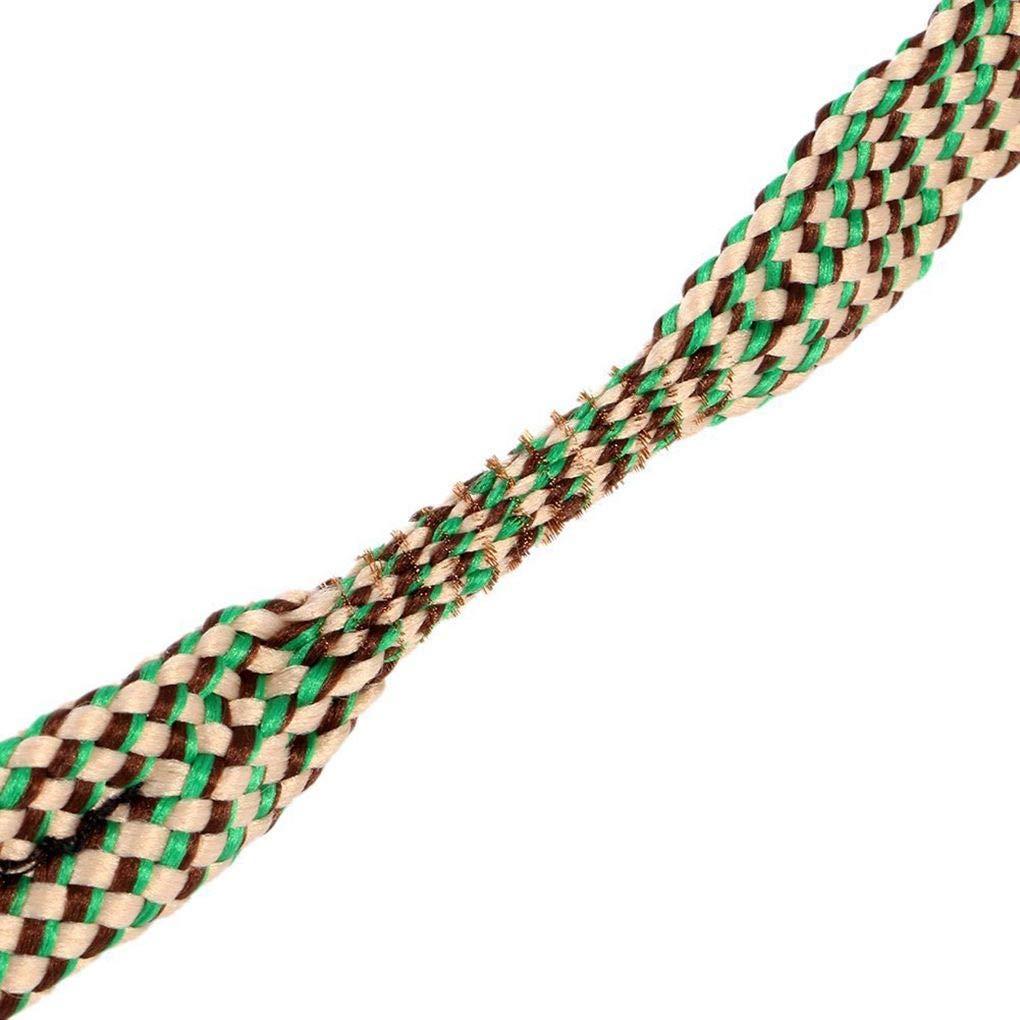 Laileya Barrel ext/érieur Bore Serpent 9 mm Calibre Nettoyage Corde Fusil de Chasse Canon Boresnake Accessoires Cleaner Corde