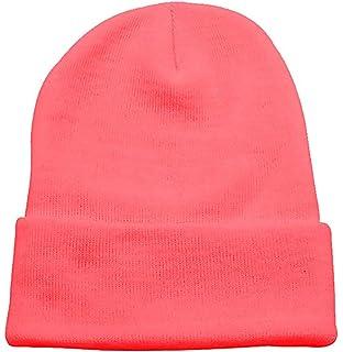 PZLE Warm Winter Hat Knit Beanie Skull Cap Cuff Beanie Hat Winter Hats for  Men caedbc290d1b