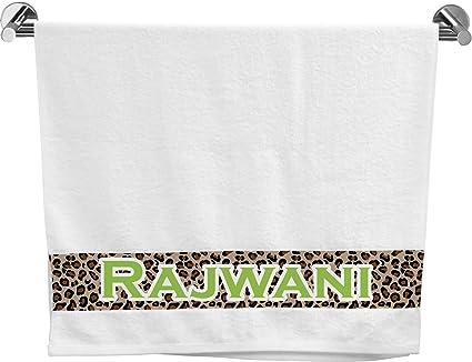 Granito leopardo toalla de baño (personalizado)