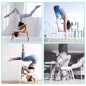 Equipos De Gimnasia, Yoga Postura sobre La Cabeza Balanzas ...