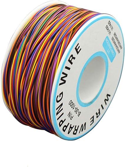 280M 30Awg 8 Fils C/âble Souple Et Isolant,Rouleau De C/âble Electrique