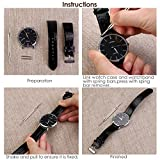 NICERIO 400pcs Professional Watch Band Stainless