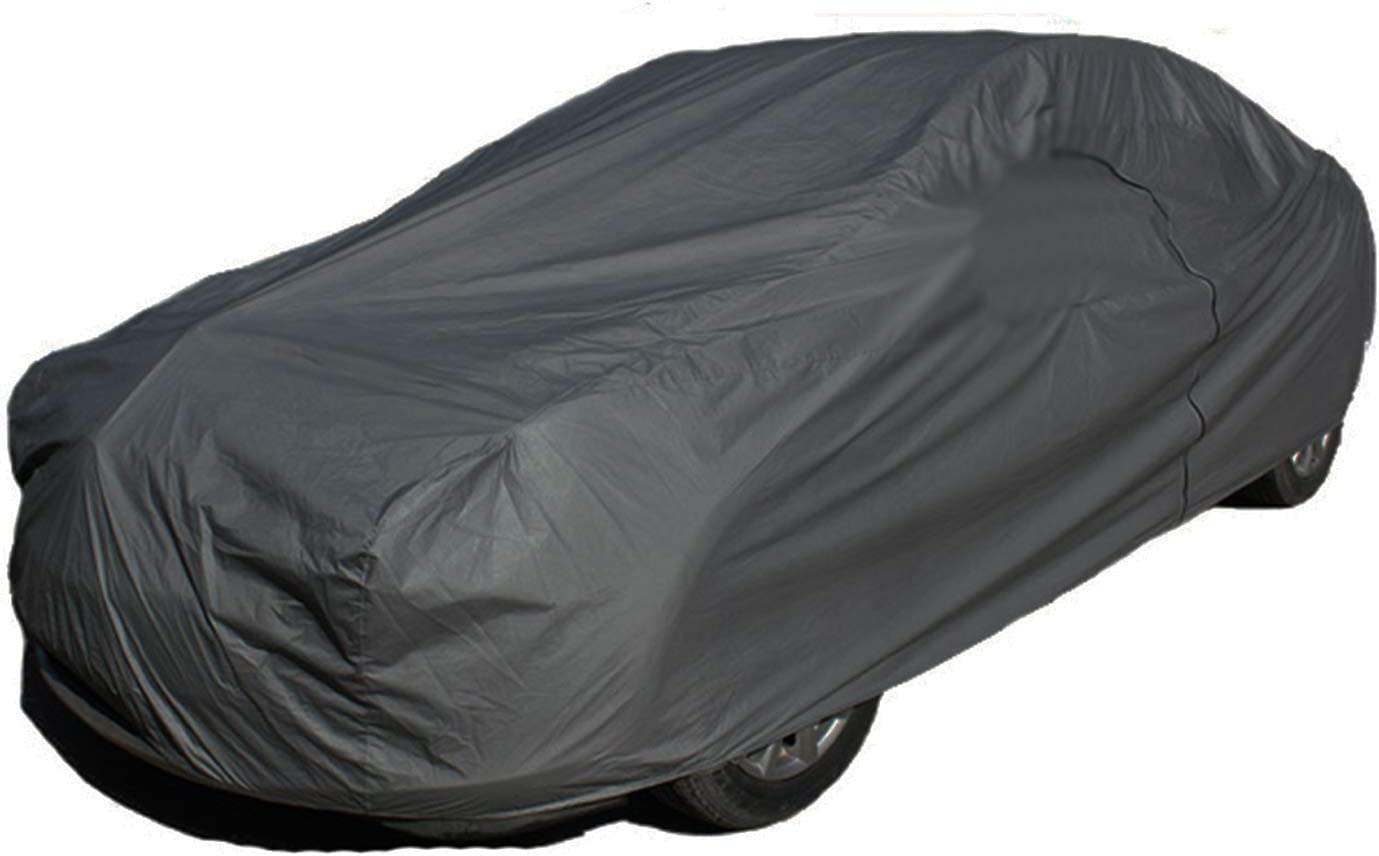 HEAVY DUTY 5.5KG High Quality 2 Layer Outdoor Full Car Cover Waterproof Size XXL