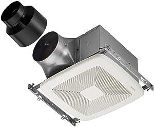 Broan-NutoneXB80ULTRA GREEN Series Single-Speed Fan, Ceiling Room-Side Installation Bathroom Exhaust Fan, ENERGY STAR Certified, <0.3 Sones, 80 CFM