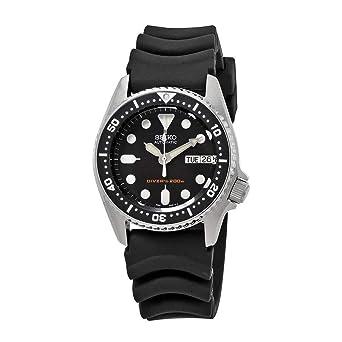 Amazon.com  Seiko Black Automatic Dive Watch SKX013K1  Watches 65f7072f7882