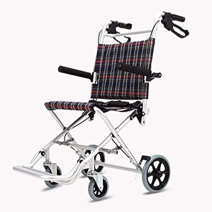 Carritos de la compra Silla de Ruedas para Ancianos BMX Carro Simple Walker Silla de Ruedas