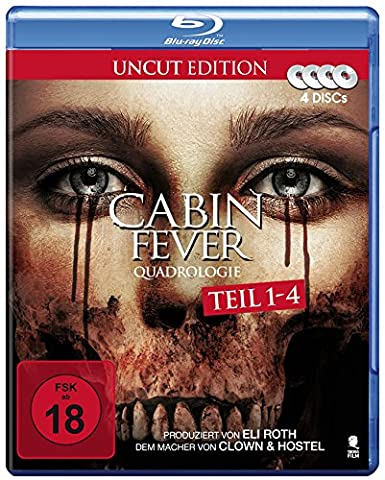 Cabin Fever Quadrologie (4 Disc-Set) [Blu-ray] [Alemania]
