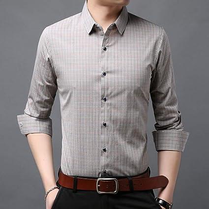 CSDM Camisa de Hombre Camisa de Marca de Moda Hombre con ...