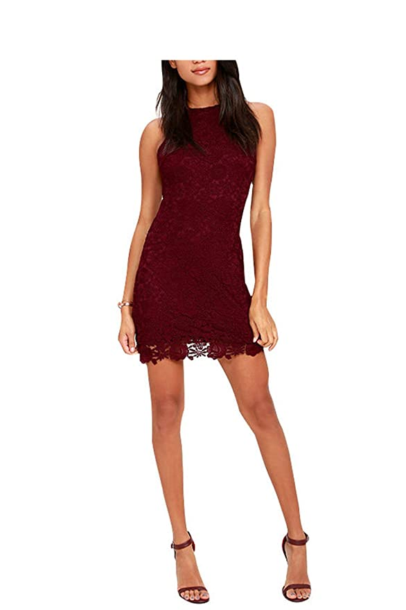 Ygosoon Lace Dress Halter Crochet Women White Dresses New Plus Size Robe at Amazon Womens Clothing store: