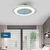 Goofly Modern Ceiling Fan Lamp with Remote Control 3-Color Light 3 Speed Wind 60cm Ceiling Fans 220V LED Lighting for…